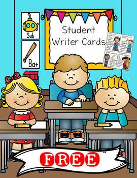 *FREE* Student Writer Cards