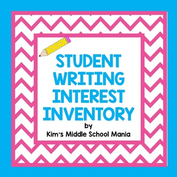 Student Writing Interest Inventory