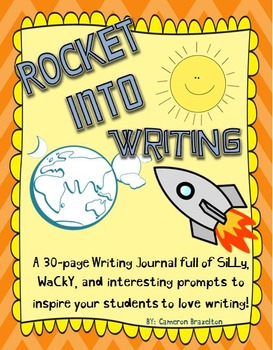 Summer Writing Journal (30-Page Writing Journal With Prompts)
