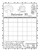 Student Yearly Calendar Workbook First through Third Grade