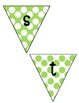 Student of the Week Banner - Green Polka Dot