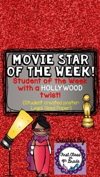 Student of the Week (Movie Star of the Week - Hollywood Th
