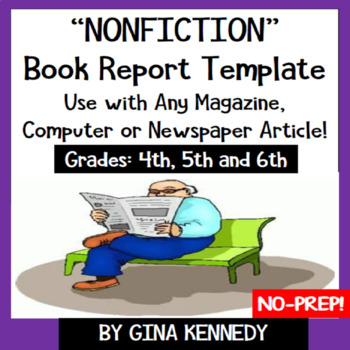 """Newspaper, Magazine or Computer Nonfiction Article """"Book R"""