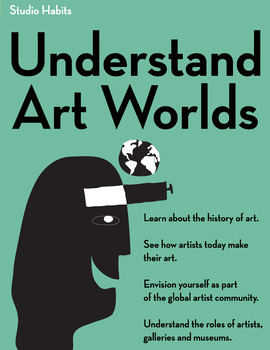 Studio Habits Poster: Understand Art Worlds