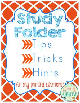 Study Folder:  Tips, Tricks, and Hints