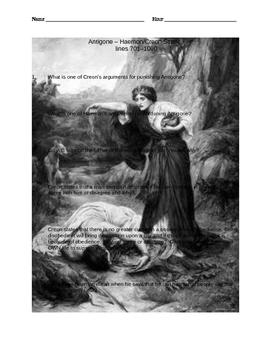 Study Guide  Antigone-Haemon and Creon Scene