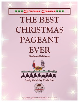 Study Guide: The Best Christmas Pageant Ever Interactive