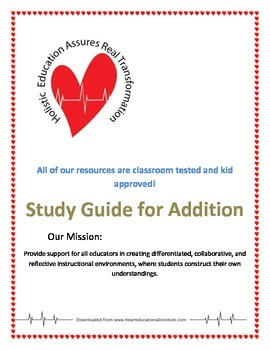 Study Guide for Addition