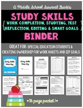 Study Skills Binder