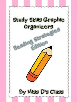 Study Skills Graphic Organizers: Reading Strategies Edition