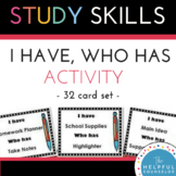 Study Skills: I Have...Who Has Listening Activity ~ Helpfu