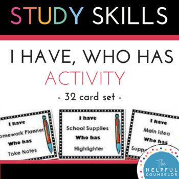 Study Skills Activity: I Have...Who Has Listening Activity