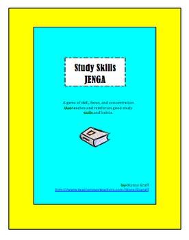 Study Skills Jenga Game