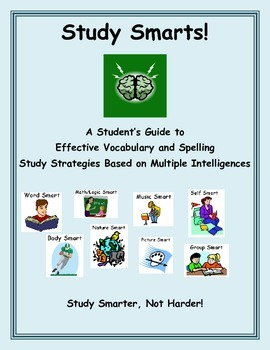 Study Smarts: Multiple Intelligences Vocabulary and Spelli