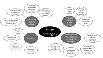 Study Strategies Concept Map