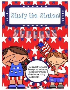 Study the States {Social Studies Unit for the 50 States}