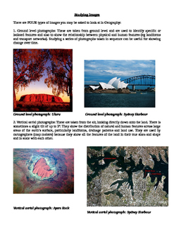 Studying Images explanation and examples