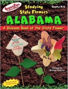 Studying State Flowers—ALABAMA: A Blossom Book of the Stat