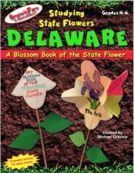 Studying State Flowers—DELAWARE: A Blossom Book of the Sta