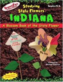 Studying State Flowers—INDIANA: A Blossom Book of the Stat