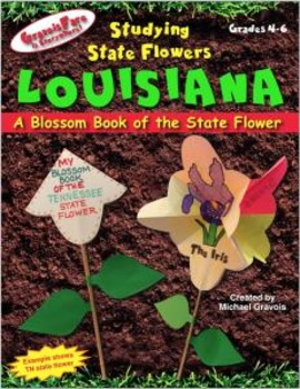 Studying State Flowers—LOUISIANA: A Blossom Book of the St