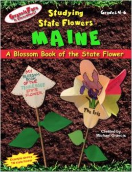Studying State Flowers—MAINE: A Blossom Book of the State Flower