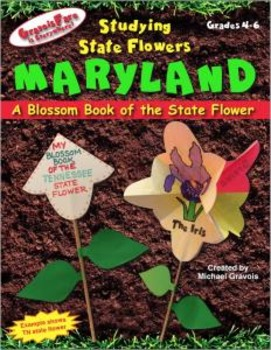 Studying State Flowers—MARYLAND: A Blossom Book of the Sta