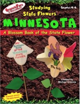 Studying State Flowers—MINNESOTA: A Blossom Book of the St