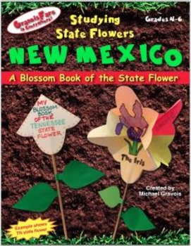 Studying State Flowers—NEW MEXICO: A Blossom Book of the S