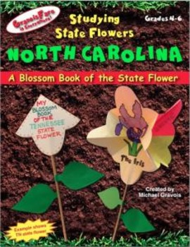 Studying State Flowers—NORTH CAROLINA: A Blossom Book of t