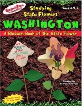 Studying State Flowers—WASHINGTON: A Blossom Book of the S