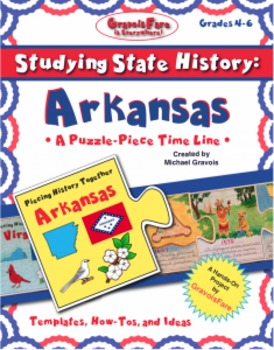 Studying State History: ARKANSAS-- A Puzzle-Piece Time Lin