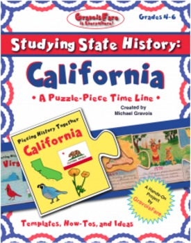 Studying State History: CALIFORNIA-- A Puzzle-Piece Time L