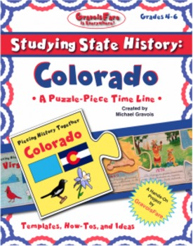 Studying State History: COLORADO-- A Puzzle-Piece Time Lin