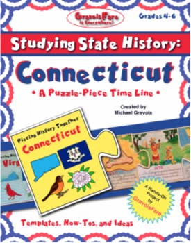 Studying State History: CONNECTICUT-- A Puzzle-Piece Time