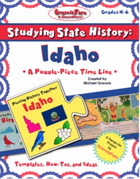 Studying State History: IDAHO-- A Puzzle-Piece Time Line b