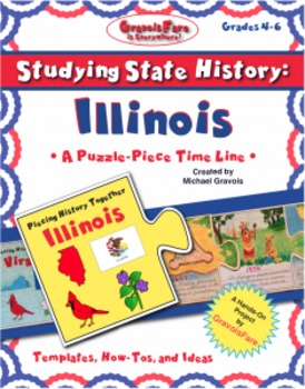 Studying State History: ILLINOIS-- A Puzzle-Piece Time Lin