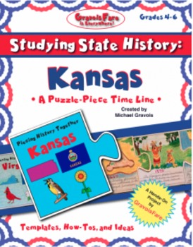 Studying State History: KANSAS-- A Puzzle-Piece Time Line