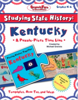Studying State History: KENTUCKY-- A Puzzle-Piece Time Lin