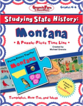 Studying State History: MONTANA-- A Puzzle-Piece Time Line
