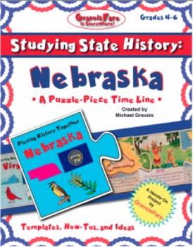 Studying State History: NEBRASKA-- A Puzzle-Piece Time Lin