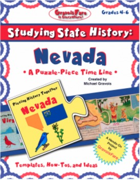 Studying State History: NEVADA-- A Puzzle-Piece Time Line