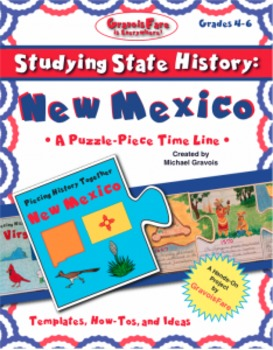 Studying State History: NEW MEXICO-- A Puzzle-Piece Time L