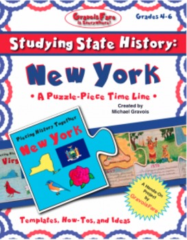 Studying State History: NEW YORK-- A Puzzle-Piece Time Lin