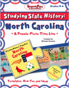 Studying State History: NORTH CAROLINA-- A Puzzle-Piece Ti