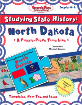 Studying State History: NORTH DAKOTA-- A Puzzle-Piece Time