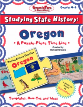 Studying State History: OREGON -- A Puzzle-Piece Time Line