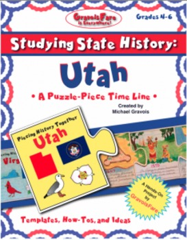 Studying State History: UTAH -- A Puzzle-Piece Time Line b