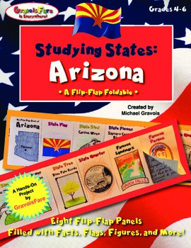 Studying States: Arizona—A Flip-Flap Foldable Filled with
