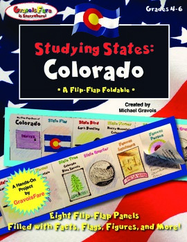 Studying States: Colorado—A Flip-Flap Foldable Filled with